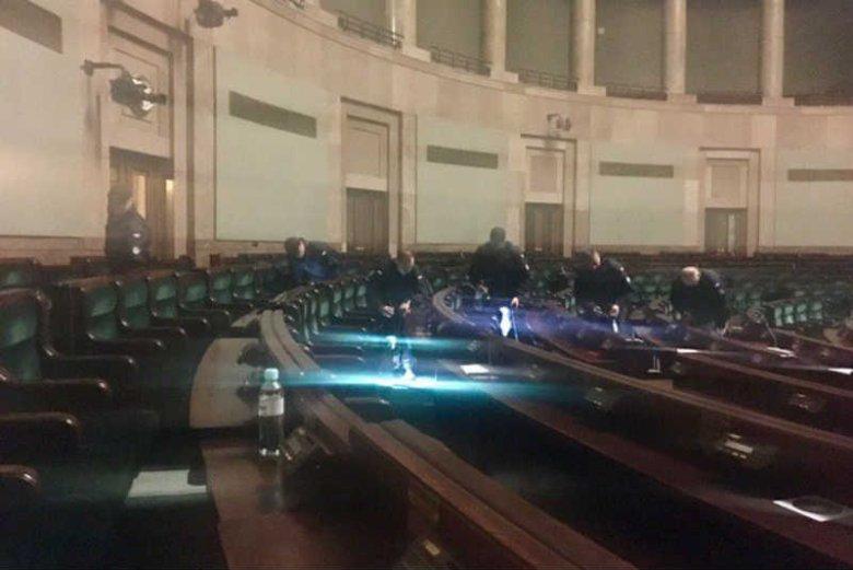 Sejm przygotowuje sięna pierwsze posiedzenie Sejmu po proteście.