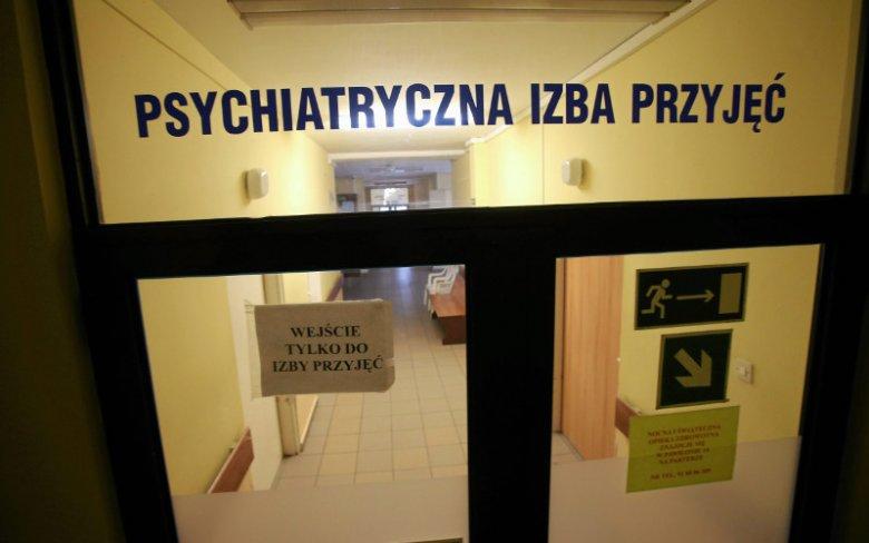 W czwartek przed budynkiem Ministerstwa Zdrowia protestowali pracownicy Regionalnego Ośrodka Psychiatrii Sądowej w Starogardzie Gdańskim. Zdjęcie poglądowe.