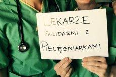 Lekarze solidaryzują się z pielęgniarkami strajkującymi w CZD.