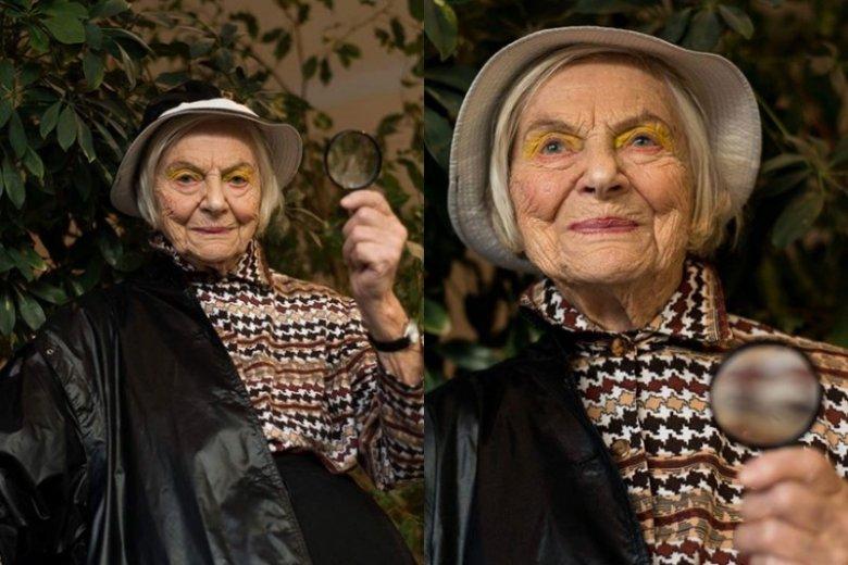 Pani Janeczka, mieszkanka domu opieki w obiektywie Aleksandy Benet