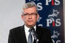 Stanisław Karczewski krytykował protest rezydentów, mówiąc, że powinni pracować dla idei i nie myśląc o pieniądzach.