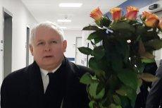 Prezes PiS Jarosław Kaczyński odwiedził wciąż przebywającą w szpitalu premier Beatę Szydło.