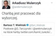 Tweet posła Mularczyka (PiS) wzbudził sporo emocji.