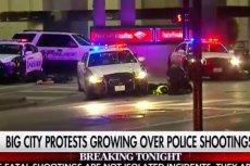 W Dallas snajperzy strzelali do policjantów, zabili czterech, ranili ośmiu.