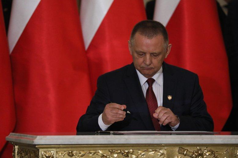Marian Banaś w czerwcu został ministrem finansów. W sierpniu wybrano go na prezesa NIK.