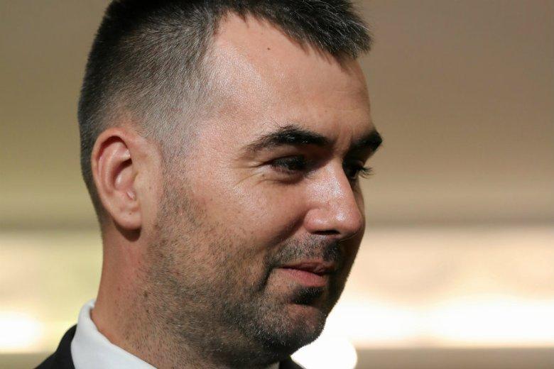 Błażej Spychalski przeprosił w RMF FM za swój wpis sprzed lat o dziennikarzach.