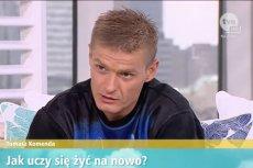 Tomasz Komenda opowiedział w Dzień Dobry TVN o internetowym hejcie, który go dotknął.