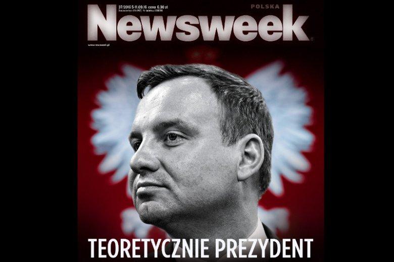 Czy Polska ma prezydenta? Tomasz Lis pyta, czy Duda prezydentem nie jest tylko teoretycznie