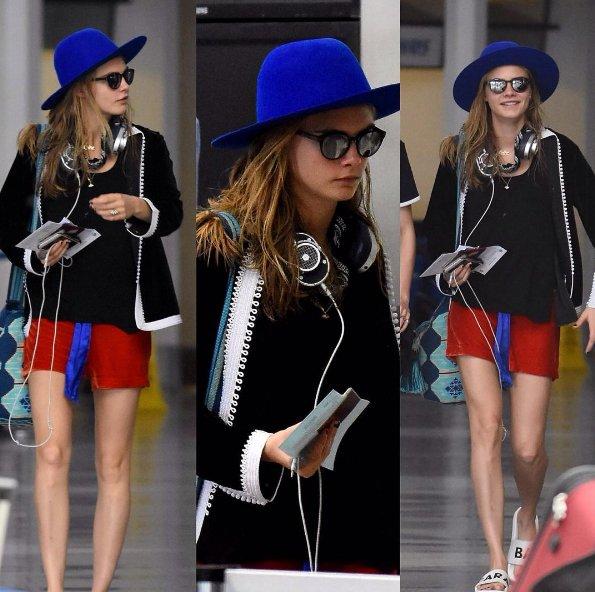 Brytyjska aktorka i modelka Cara Delevingne jest ikoną mody ulicznej