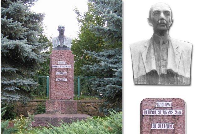 Jan Albin Goetz Okocimski odczekał się pomnika w Brzesku.