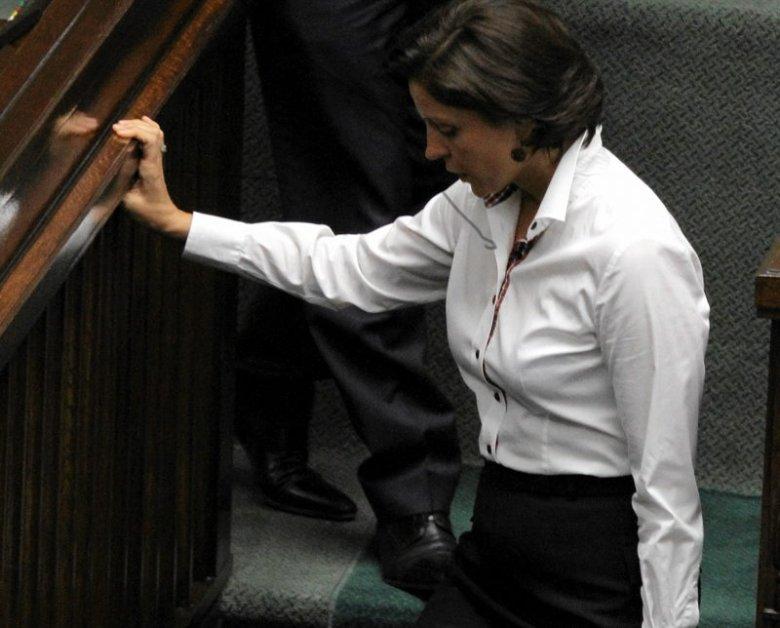 Ministra Sportu Joanna Mucha