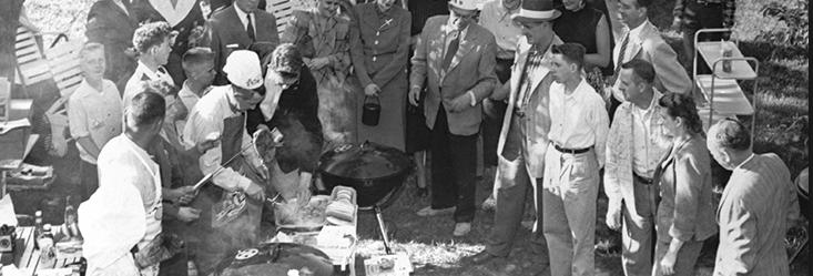 W latach 50. w USA zaprojektowano kulistego grilla, który wkrótce podbiłcały Zachód.