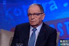 Senator Jerzy Federowicz był gościem programu na żywo. Nie wiedział o tym i zaliczył wpadkę