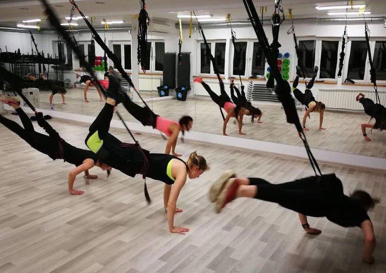 Bungee fitness to trening siłowy, ale również dobra zabawa
