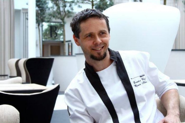 """Wojciech Kilian, szef kuchni restauracji """"Signature"""""""