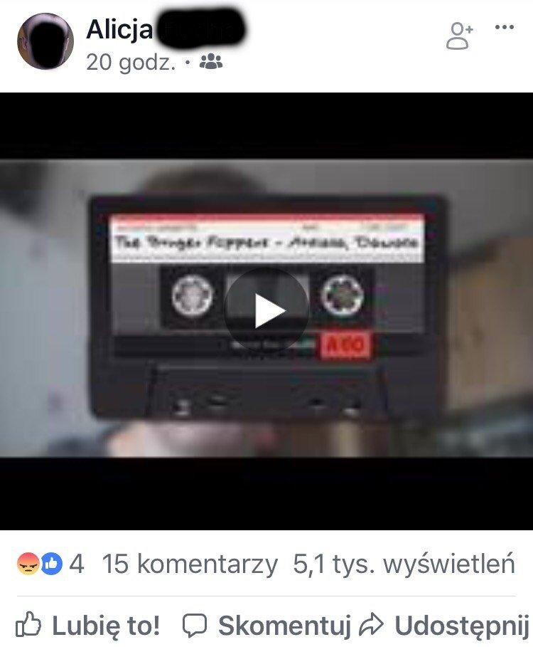 Zrzut ekranu i kadr z filmu hakera