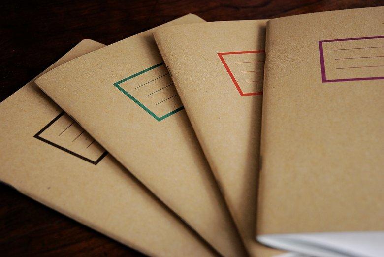 Notesy wykonane są ręcznie z wysokiej jakości papieru