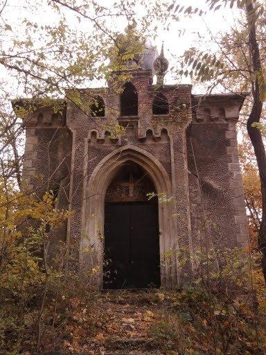 Cerkiew w Chrościnie przed remontem.