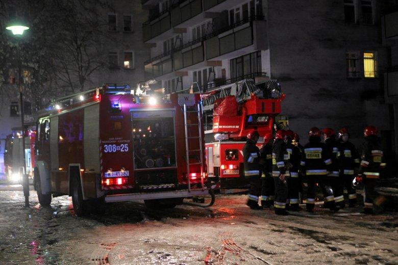 W sylwestrową noc strażacy wyjechali do ponad 1700 interwencji.