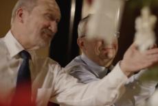 Antoni Macierewicz w świątecznym nastroju