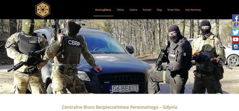 Tak reklamuje się Centralne Biuro Bezpieczeństwa Personalnego.