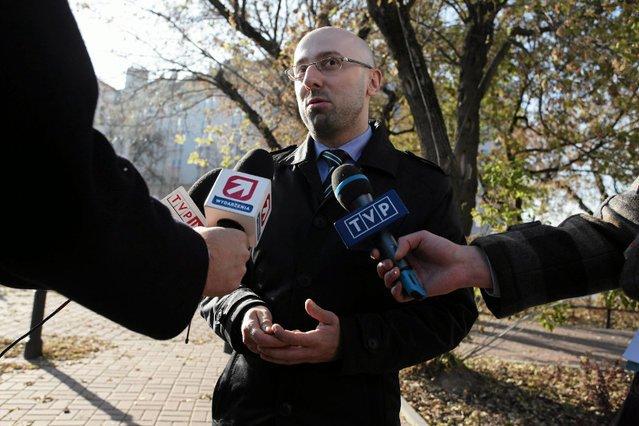 Mariusz Łapiński obiecał, że w ciągu miesiąca dowiemy się, kto wystąpił o ułaskawienie Mariusza Kamińskiego.