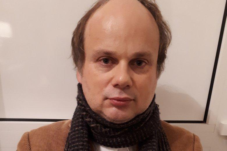 Dr hab. August Grabski z Instytutu Historycznego UW  bada m.in zbrodnie  tzw. żołnierzy wyklętych na Żydach