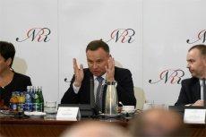 Andrzej Duda zawetuje zmiany w ordynacji wyborczej do PE – twierdzi Onet.