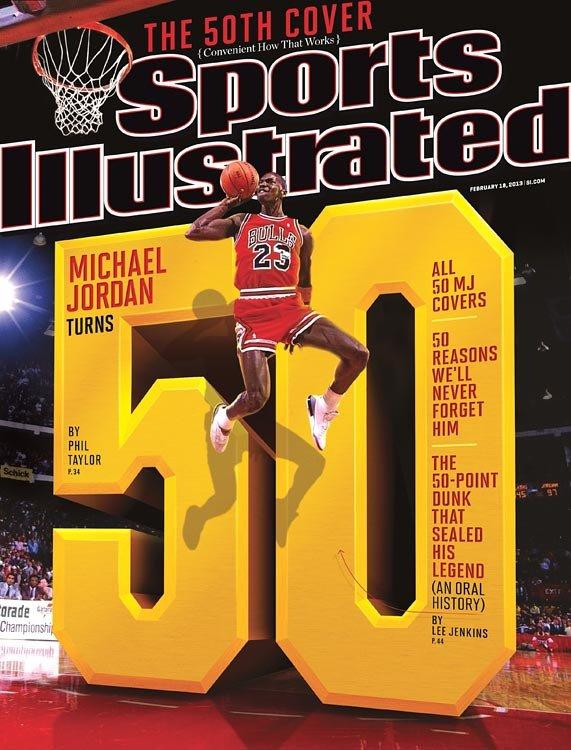 """Żaden sportowiec świata nie pojawiał się na okładce Sports Illustrated tak często jak Michael Jordan. A gdyby Jordan spudłował """"The Shot?"""""""
