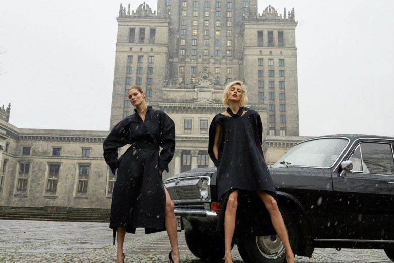 """Fragment okładki pierwszego numeru polskiej edycji """"Vogue'a"""""""