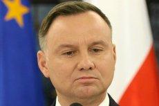 """Andrzej Duda oceniłsędziów, mówiąc, że """"poziom zakłamania tego towarzystwa go osłabia""""."""