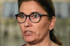 Beata Mazurek z PiS zarzuciła opozycji, że opluwa polski dom i donosi na własny kraj;