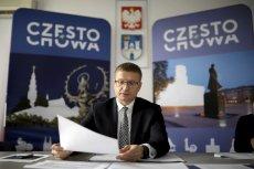 Krzysztof Matyjaszczyk podliczył zobowiązania rządu na rzecz Częstochowy.
