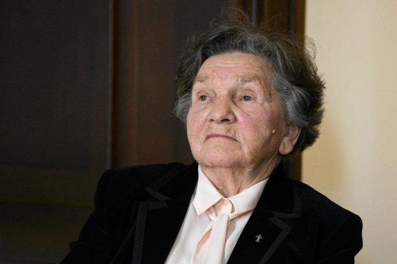 Wanda Traczyk Stawska nie rezygnuje z pomysłu odwiedzenia protestujących w Sejmie. Ale następnym razem weźmie własny stołek i wodę.
