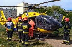 W Świnoujściu doszło do akcji ratowniczej z udziałem helikoptera Lotniczego Pogotowia Ratunkowego.