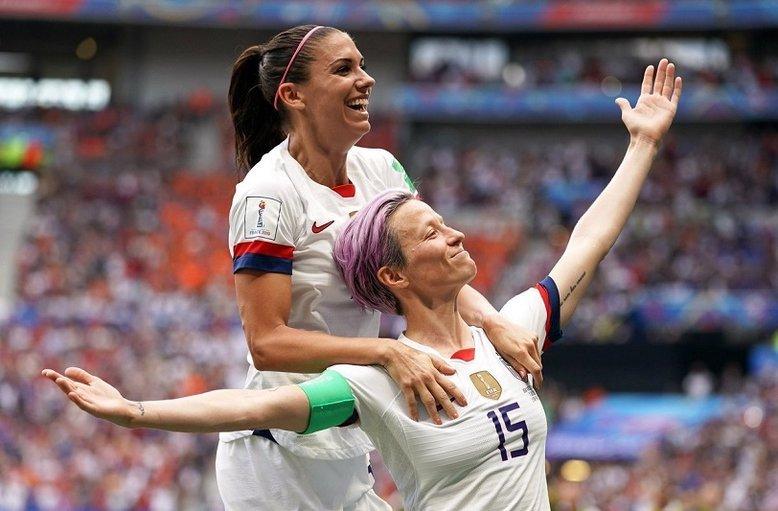 Piłkarka Megan Rapinoe stała się ikoną walczących o równouprawnienie kobiet i osób LGBT.