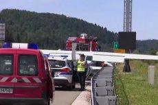 Awionetka musiała awaryjnie lądować na autostradzie w Chorwacji.