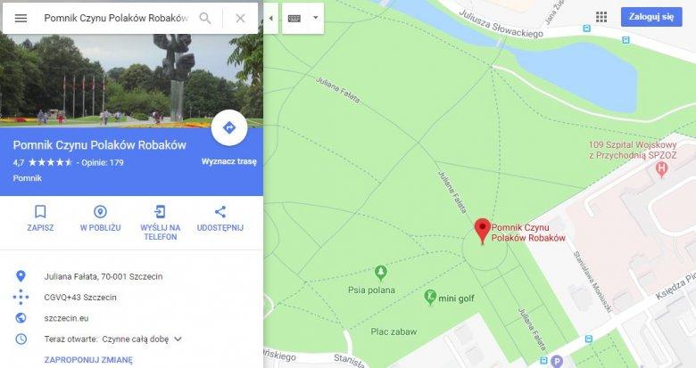 Jak Zmienic Nazwe W Mapach Google Internauci Trolluja Szkoly I