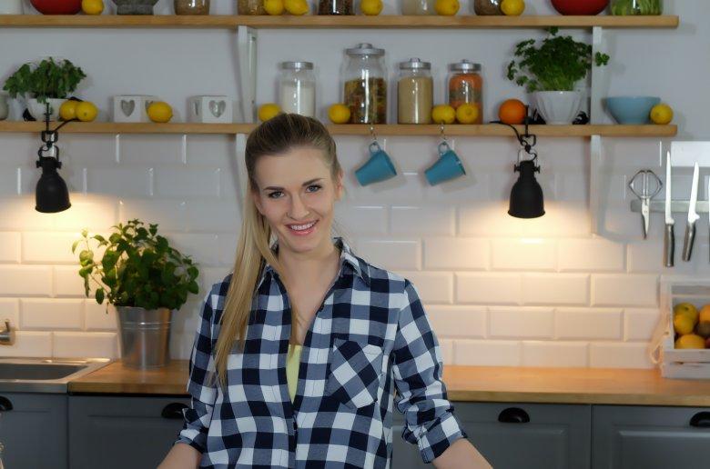 """Fot. 1.  Beata Śniechowska - zwyciężczyni II edycji MasterChef w nowym programie """"Teraz kuchnia"""""""