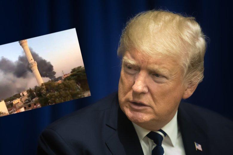Donald Trump w kuriozalny sposób tłumaczy, dlaczego zdradził Kurdów.