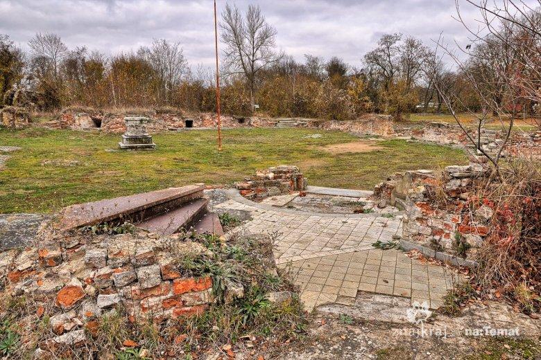 Ruiny zamku na Starym Mieście w Kostrzynie nad Odrą