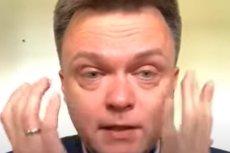 Szymon Hołownia odpowiedział hejterom, którzy skrytykowali go za płacz przed kamerą.