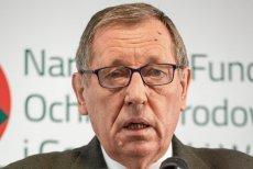 """Minister środowiska jest zdania, że myśliwi to """"naprawdę dobra obrona terytorialna""""."""