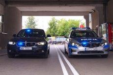 To najnowsze radiowozy stołecznej policji. BMW 330i GT xDrive oraz oznakowane BMW 330i.