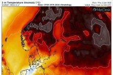 W Norwegii zarejestrowano styczniowe rekordy ciepła.