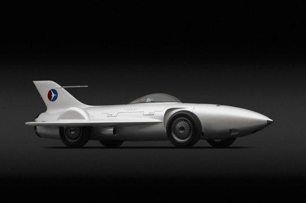1954 GM Firebird XP-21. Materiały prasowe [url=http://www.high.org/] High Museum of Art [/url]