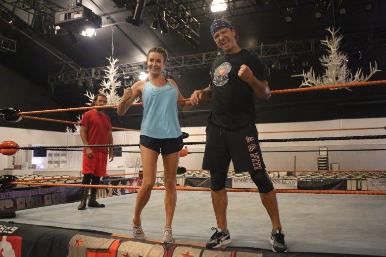 Małgorzata i Radek Majdanowie zostali zawodnikami wrestlingowymi