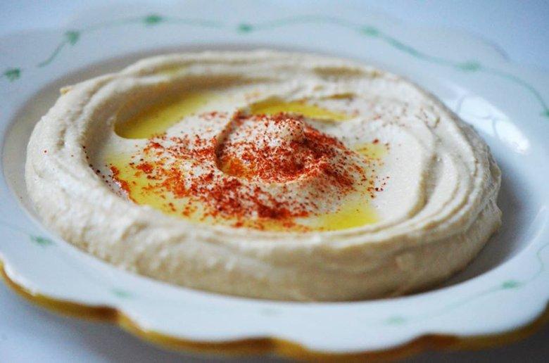 Hummus, najpopularniejsze danie w Londynie.