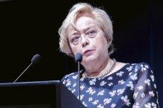 Prof. Małgorzata Gersdorf wezwała sędziów Izby Dyscyplinarnej do powstrzymania się od orzekania.