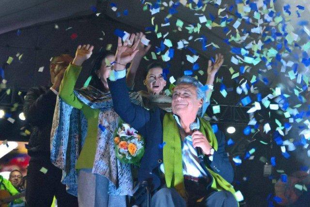 Lenin Moreno - nowy prezydent Ekwadoru.